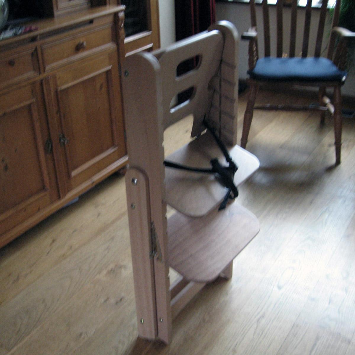 Houten Inklapbare Kinderstoel.Huisman Houtbewerking Anna Paulowna
